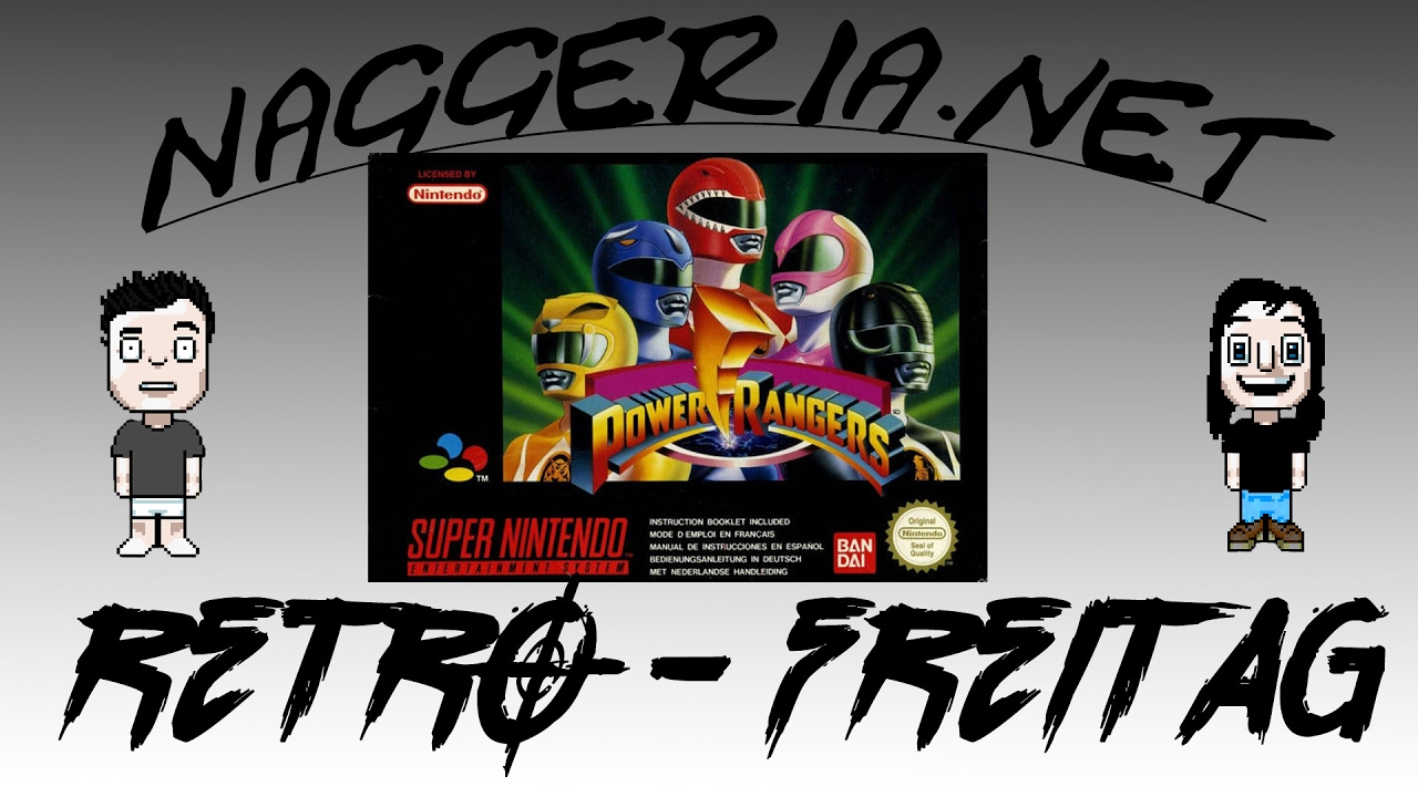 [Retro-Freitag] Mighty Morphin Power Rangers (Super Nintendo)