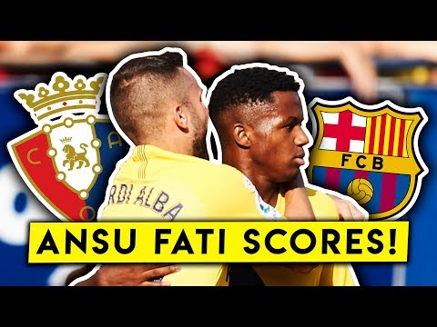 ANSU FATI, REMEMBER THE NAME! Osasuna 2-2 Barcelona | MATCH REVIEW | BugaLuis