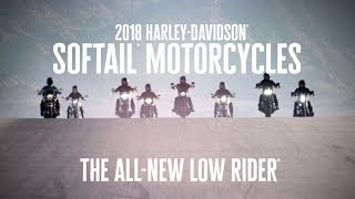 The All-New 2018 Harley-Davidson Low Rider