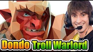 Dendi Dota 2 [Troll Warlord] Just A SMALL Comeback