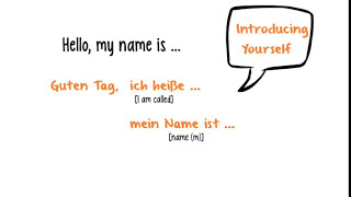 German for Beginners: Lesson 5 - Introducing Yourself