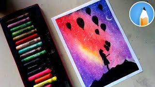 Drawing Beautiful Night Sky Free Video Search Site Findclip