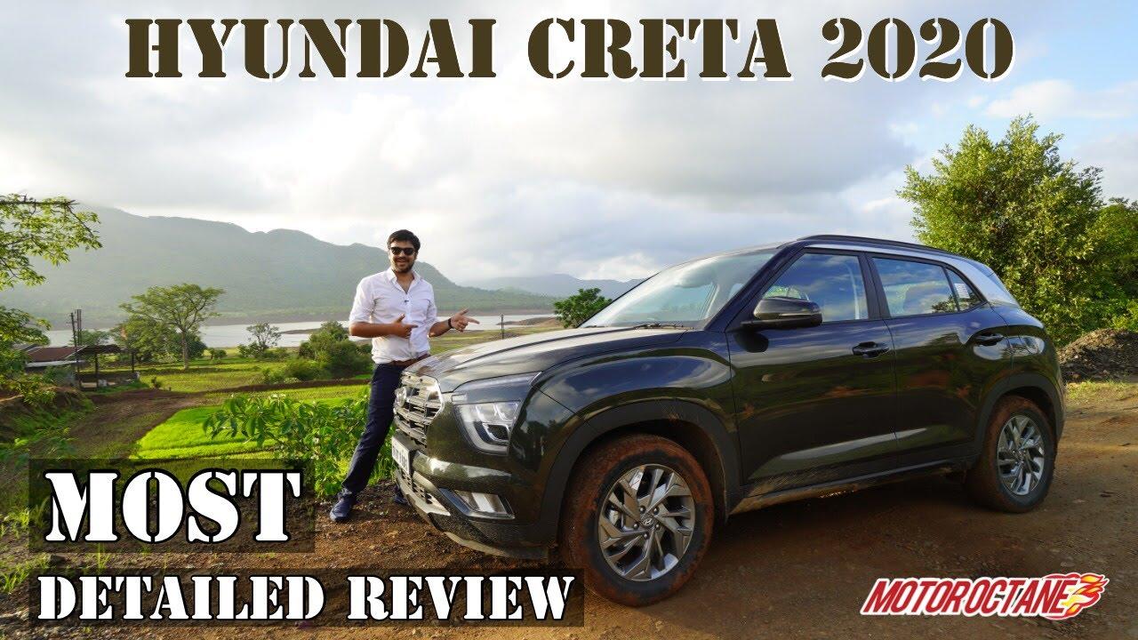 Motoroctane Youtube Video - Hyundai Creta 2020 - Most Detailed Review