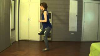 Slapping Leather (Line Dance) - Demo & Teach