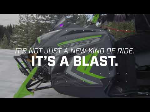 2022 Arctic Cat Blast ZR 4000 ES with Kit in Mazeppa, Minnesota - Video 1