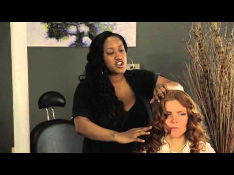 Video How to Maintain the Curl After a Perm : Styles for Long Hair