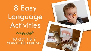 8 ACTIVITIES FOR LANGUAGE DEVELOPMENT (1) | How We Get Our Toddler Talking With Games And Activities