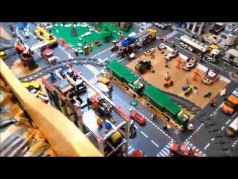 comment construire ville lego