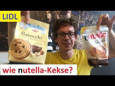 Nutella Kekse im LIDL-Angebot? Barilla Baiocchi Kekse von Mulino Bianco im Vergleichs-Test!