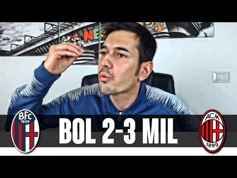SE NON FA LA FIGURINA LÌ DAVANTI, DIVENTA DEVASTANTE   Bologna-Milan 2-3