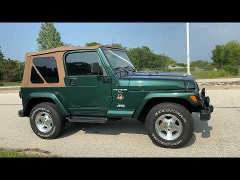 2001 Jeep® Wrangler Sahara in Big Bend, Wisconsin - Video 1