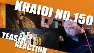 Khaidi No 150 Teaser Reaction  Chiranjeevi & The Slow Motion SWEAT