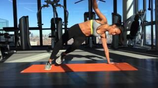 [Saria健身教室] 如何練出馬甲線 by ELLE TAIWAN