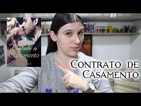 CONTRATO DE CASAMENTO (Livro por A. C. Nunes)