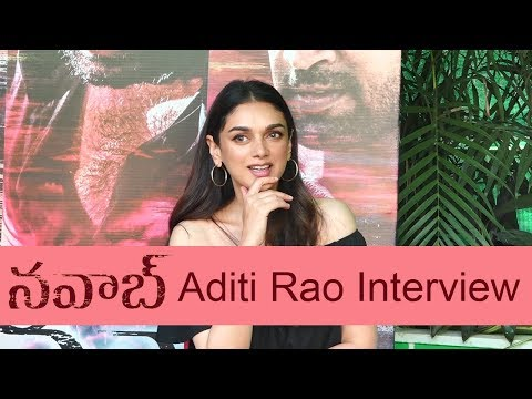 Aditi Rao Interview About The Movie Nawab