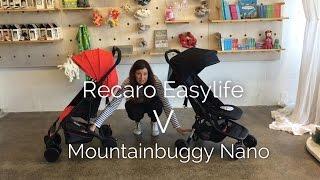 Recaro EasyLife V MountainBuggy Nano