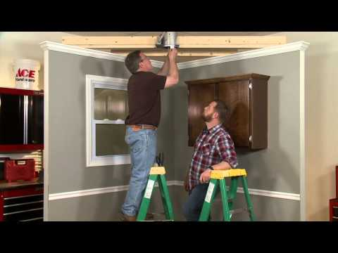 How to Change a Recessed Can to a Pendant Light