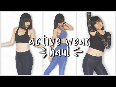 ACTIVEWEAR TRY ON HAUL! (Philippines)