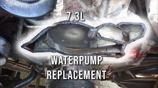 7.3L - How To: Replace Water Pump