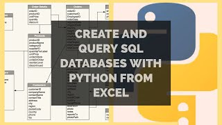Create and Query SQL Database with Python | SQL and Pandas
