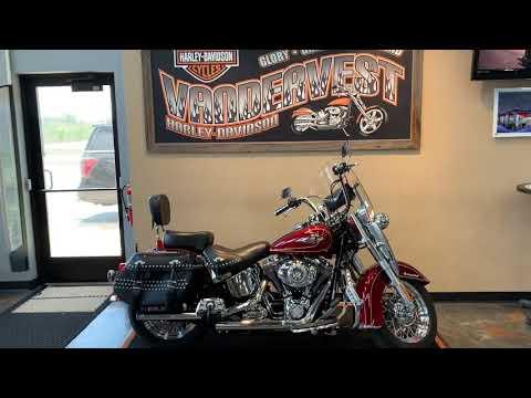 2009 Harley-Davidson Softail Heritage Softail Classic at Vandervest Harley-Davidson, Green Bay, WI 54303