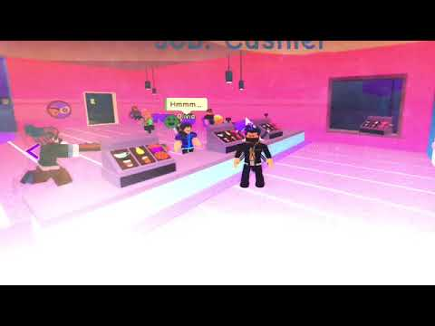 WORK AT A COFFEE SHOP IN ROBLOX!