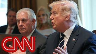 Trump fires back at Rex Tillerson: He's dumb as a rock