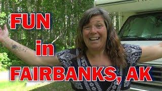 Alaska Road Trip: Fun in Fairbanks Alaska: Pioneer Park, Downtown, Hikes and More!
