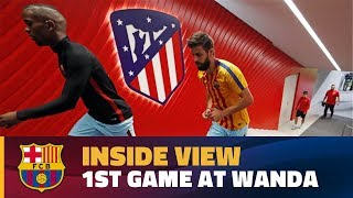 [BEHIND THE SCENES] FC Barcelona's first match at the Wanda Metropolitano
