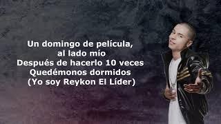 Reykon Ft. Cosculluela    Domingo Letra