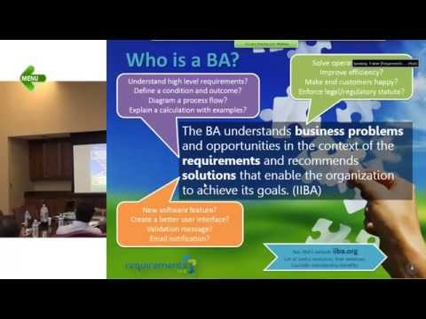[Part 1/6] Business Analyst Training for Beginners - Basics. - YouTube