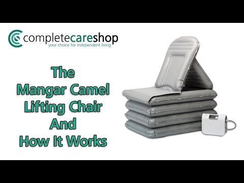 Using The Mangar Camel Lifting Chair
