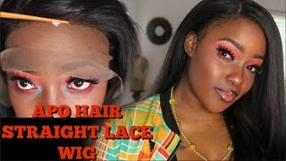 Look at This!! New Straight Wig! New Method! / APOHAIR