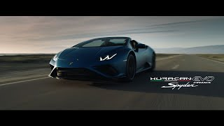 YouTube Video aGE3MzZrHw0 for Product Lamborghini Huracán EVO Rear-Wheel Drive Spyder Sports Car by Company Lamborghini in Industry Cars