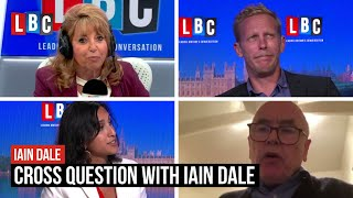 Cross Question with Iain Dale: Laurence Fox, Claire Coutinho, Charlie Falconer & Eve Pollard