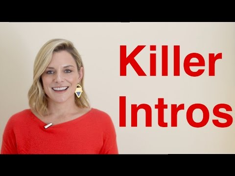 How to Start your Presentation: 4 Step Formula for a Killer Intro