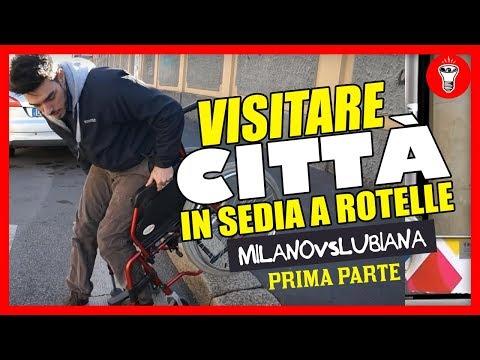 Visitare Città in Sedia a Rotelle: Milano VS Lubiana - PARTE UNO - [Esperimento Sociale] - theShow