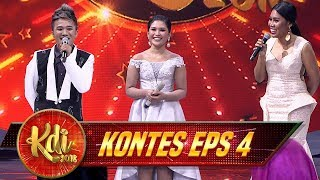 KOCAKK!! Evi, Aan dan Santi Niruin Bunda Rita Sugiarto - Kontes KDI Eps 4 (8/9)