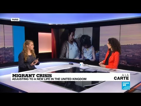 Video: How migrants adjust to a new life in the UK