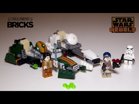 Vidéo LEGO Star Wars 75090 : Le Speeder Bike d'Ezra
