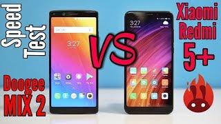 Xiaomi Redmi 5 Plus VS Doogee MIX 2 - SPEED TEST