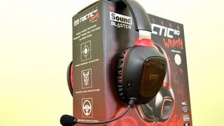 Creative Sound Blaster Tactic 3D Wrath Unboxing + Written Review