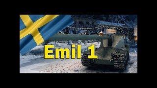 World of Tanks*Emil 1, стоковый мастер, мой третий  бой