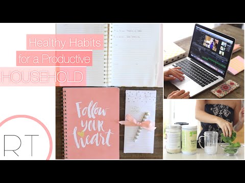 Video Healthy Habits For A Productive Day