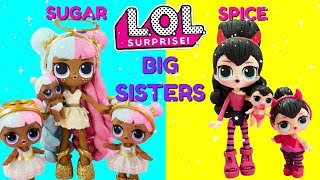 LOL SURPRISE Sugar & Spice Big Sisters Compilation DIY Shopkins Shoppie Custom Makeover