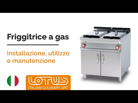 FRIGGITRICE A GAS - ITA