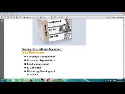 SAP CRM Functional Training | SAP CRM Functional ... - YouTube