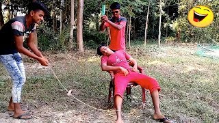 Top Funny Video 2018  Village Funny Boys | Episode 06 | Lungi fun