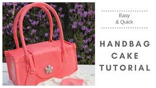 Bag Cake | How To Make A Handbag Cake (very Easy)