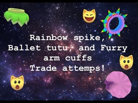 Trade attempts for furry arm cuffs - смотреть онлайн на Hah Life